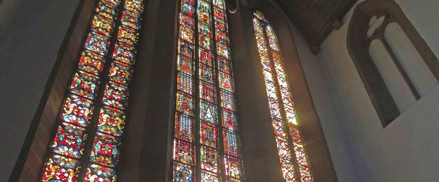 Kirchenfenster-Augustinerkloster