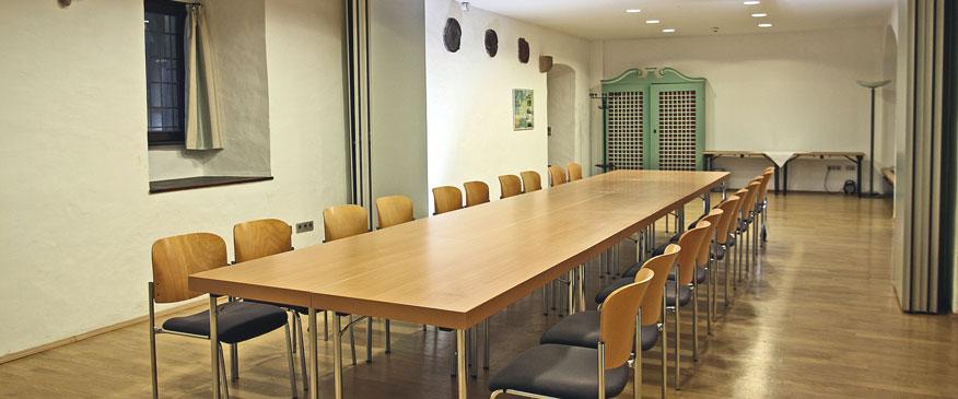 Tagungsräume Wittenberg & Rom